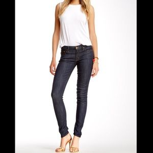 MOTHER 'The Looker' Midnight Storm Skinny Jeans 26